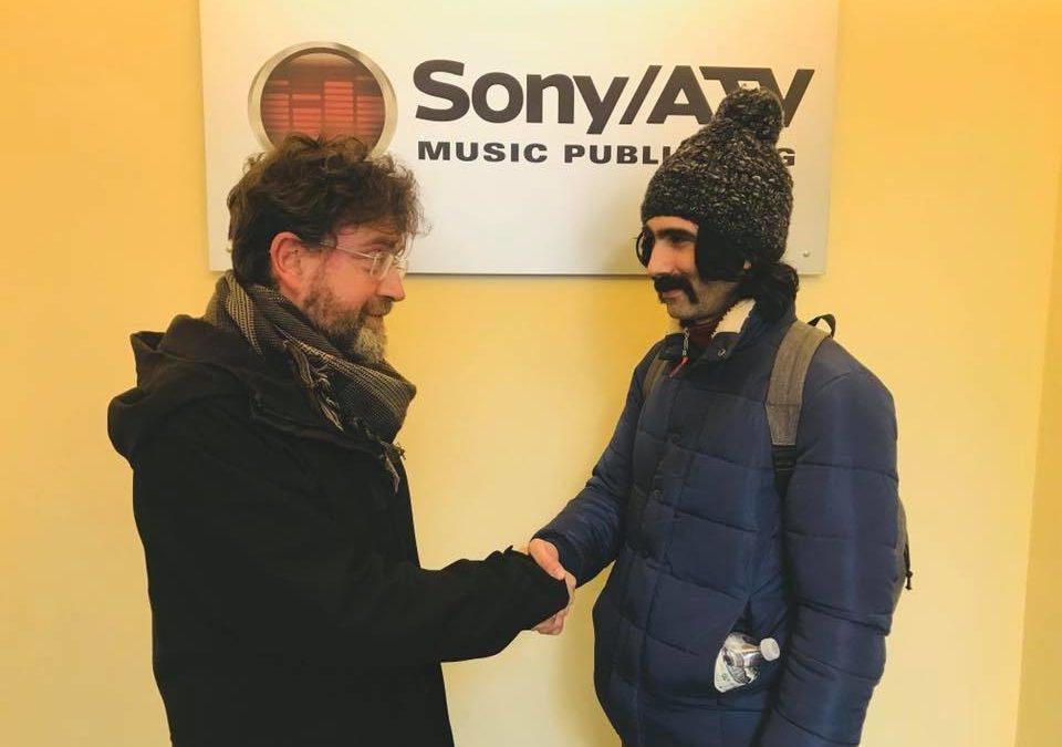 """Sony ATV firma le edizioni di """"Uomo Donna"""" di Andrea Laszlo De Simone"""