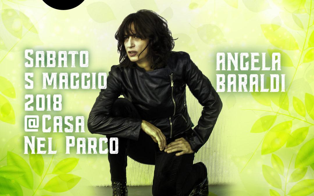 """Il 5 maggio """"Play On Air"""" alla Casa nel Parco con Angela Baraldi"""