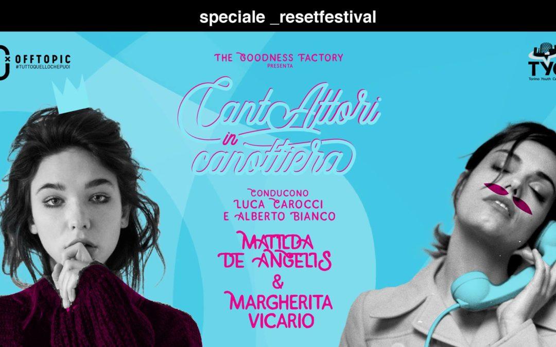 Data zero di CantAttori in Canottiera a _resetfestival 2018