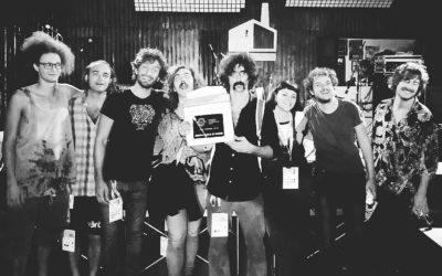 Andrea Laszlo De Simone ritira il premio KeepOn Live 2018
