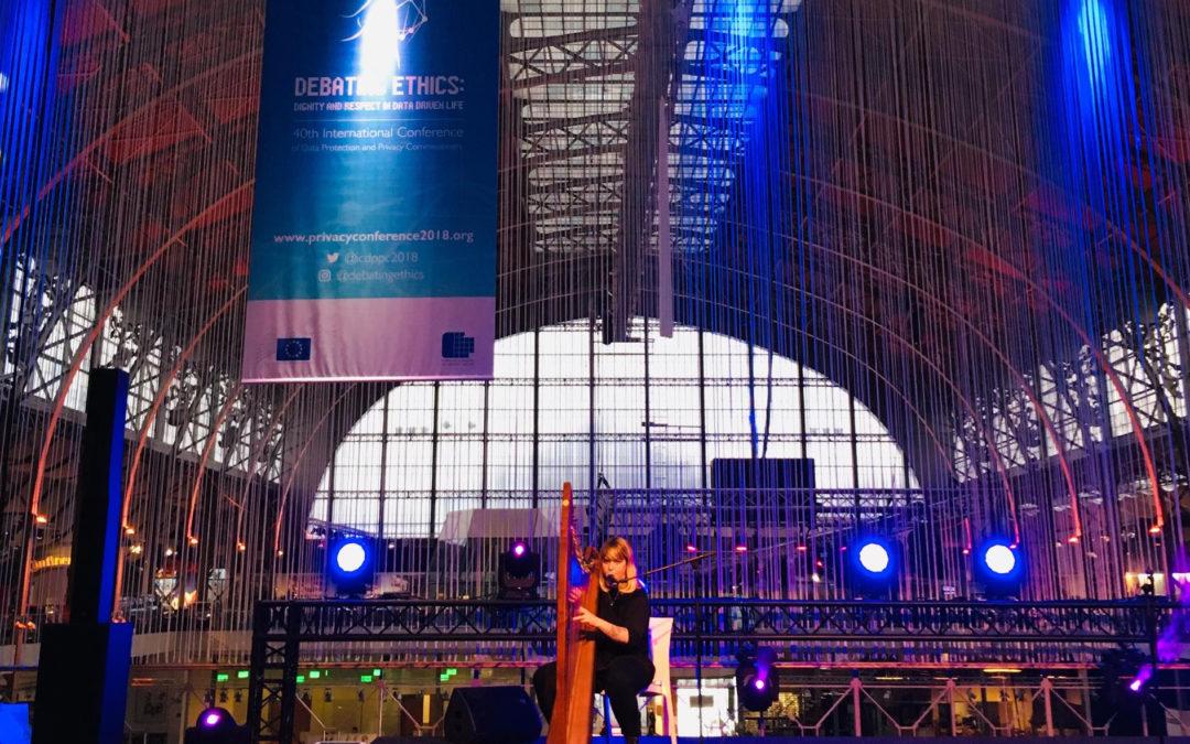 Cecilia a Bruxelles come ospite musicale del Gala di Debating Ethics