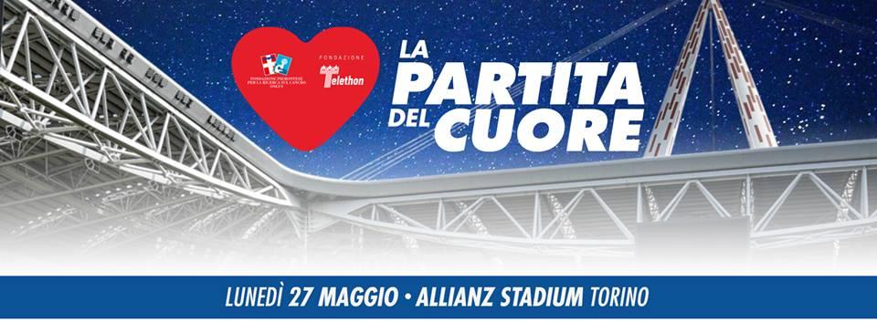 Torna dopo due anni a Torino La Partita del Cuore: ancora una volta Goodness è partner per la promozione locale dell'evento