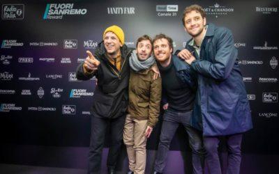 Gli Eugenio in Via Di Gioia aprono il 70° Festival di Sanremo con Tsunami