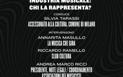"""Annarita Masullo ospite del panel """"Industria musicale: chi la rappresenta?"""" organizzato da Linecheck"""