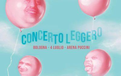 Il primo Concerto Leggero degli Eugenio in Via Di Gioia in programma il 4 luglio a Bologna