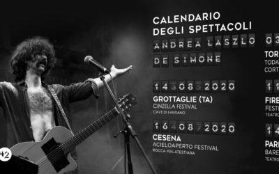 """Andrea Laszlo De Simone finalmente di nuovo dal vivo con """"Immensità"""""""