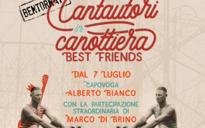"""Dal 7 luglio Cantautori in Canottiera torna nella speciale versione """"Best Friends"""""""