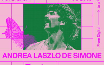 Andrea Laszlo De Simone live in diretta streaming per Wired Next Fest 2020