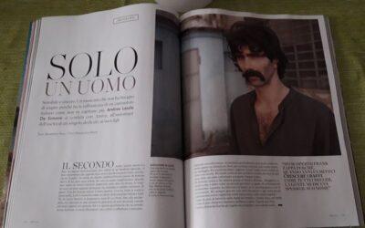 In edicola su Amica una bella intervista ad Andrea Laszlo De Simone