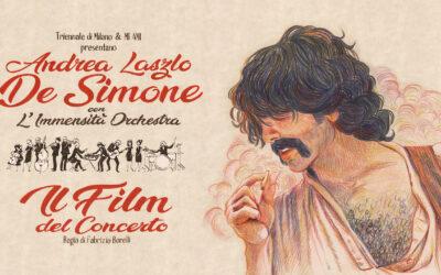 """""""Il Film del Concerto"""" di Andrea Laszlo De Simone in residenza a Triennale Milano"""