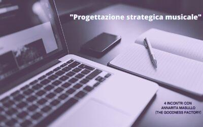 """""""La progettazione strategica musicale"""": 4 incontri con Annarita Masullo organizzati dal Centro Giovani Bluspace"""