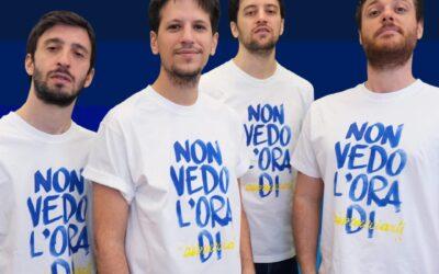 """La t-shirt """"Non vedo l'ora di abbracciarti"""" degli Eugenio in Via Di Gioia per la campagna #digitalieuguali"""