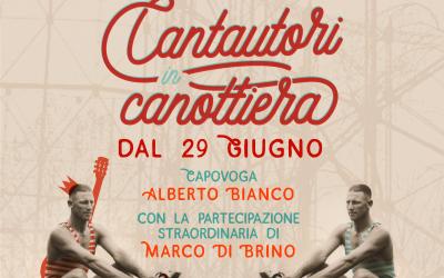 Dal 29 giugno a OFF TOPIC riparte la nuova edizione di Cantautori in Canottiera