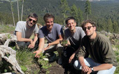 Gli Eugenio in Via Di Gioia a Paneveggio: il 14 giugno la foresta è rinata a suon di musica