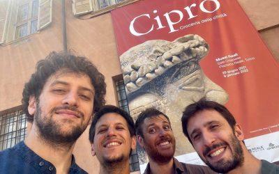 Gli Eugenio in Via Di Gioia sonorizzano un'intera area espositiva dei Musei Reali di Torino